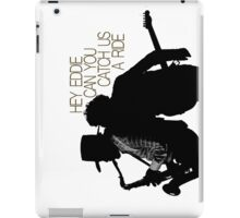 Hey Eddie iPad Case/Skin