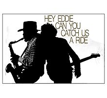 Hey Eddie Photographic Print