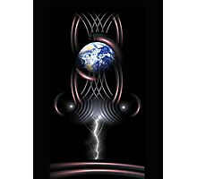 earth frequency 1 Photographic Print