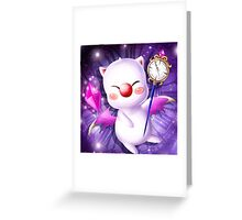 Time Traveling Moogle Greeting Card
