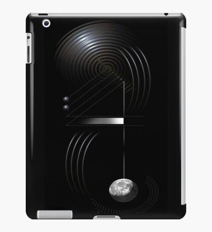 earth frequency 2 iPad Case/Skin