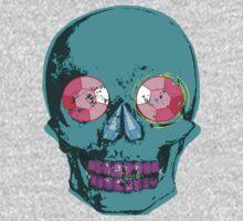 Blue Gemstone Skull  Kids Clothes