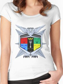 Voltron Force Coat of Arms Women's Fitted Scoop T-Shirt