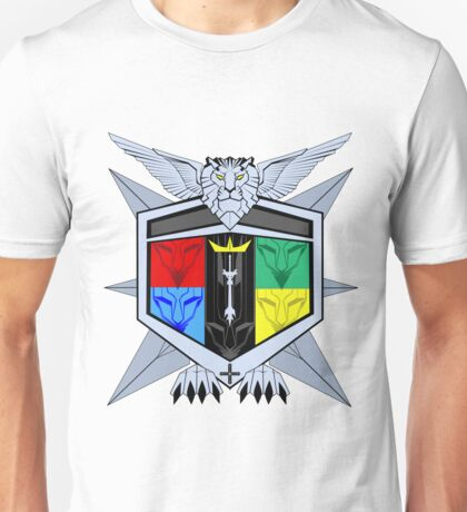 Voltron Force Coat of Arms Unisex T-Shirt