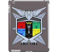 Voltron Force Coat of Arms iPad Case/Skin
