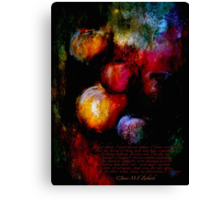 The Miracles... Canvas Print
