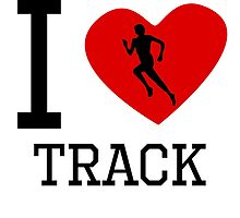 I Heart Track by kwg2200