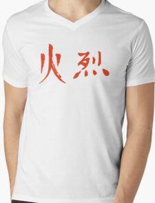 Fire - II Mens V-Neck T-Shirt