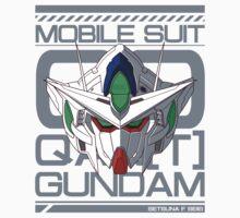 Gundam Qan(T) - GNT0000 v.2 One Piece - Short Sleeve