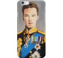 sir cumberbatch iPhone Case/Skin
