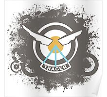 Tracer Patch Poster