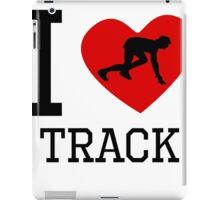 I Heart Track iPad Case/Skin