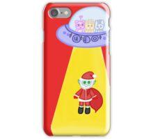 Happy Galactic Holidays iPhone Case/Skin