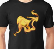 Flaming Abstract Unisex T-Shirt