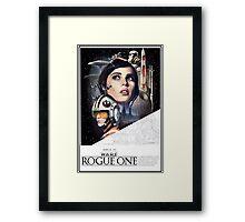 ROGUE ONE- Star Wars Framed Print