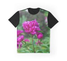 10515 Pink Peony Graphic T-Shirt
