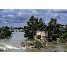 The river's house Photographic Print