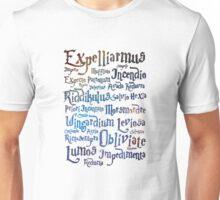 Harry potter magic spells Unisex T-Shirt