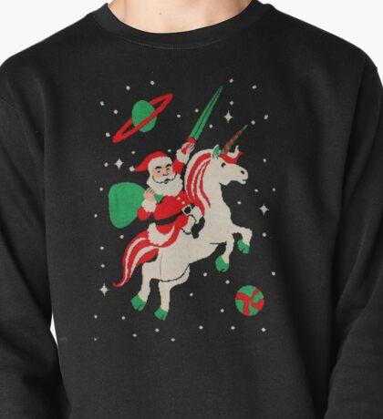 Santa and Unicorn Pullover