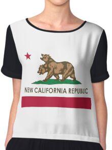 New California Republic Chiffon Top