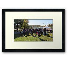 Suicide Prevention Walk 2016 Framed Print