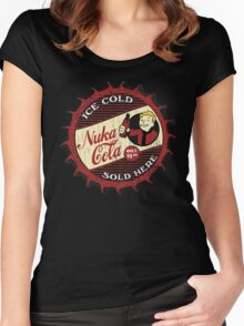 Nuka Cola 2 Women's Fitted Scoop T-Shirt
