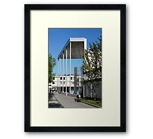 modern urban architecture Framed Print