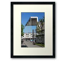 modern urban architecture Framed Print