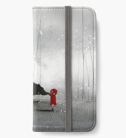 Little Red Riding Hood ~ The Fisrt Touch  iPhone Wallet/Case/Skin