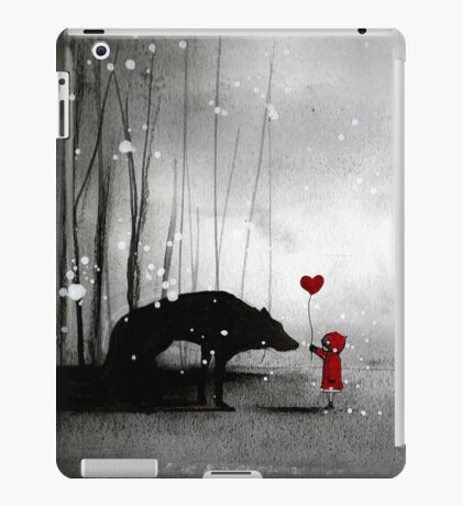 Little Red Riding Hood ~ I love You  iPad Case/Skin