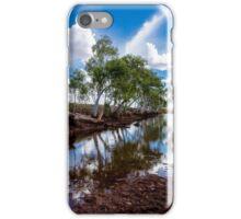 Water hole in the Pilbara iPhone Case/Skin