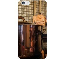 copper Saucepan on the stove iPhone Case/Skin