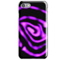 Pink and Purple Abstract iPhone Case/Skin