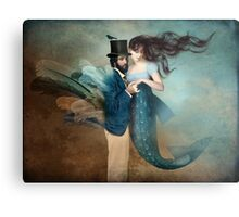 A Mermaids Love Metal Print