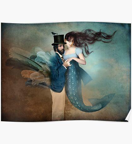 A Mermaids Love Poster