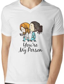 Grey's Anatomy - You Are My Person Mens V-Neck T-Shirt