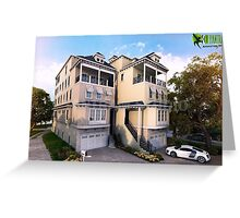 Beautiful Houses Exterior Design Ideas Greeting Card