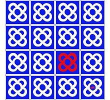 Barcelona tiles Photographic Print