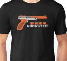 Original Gangster NES Light Gun Joke Gaming Retro Duck Unisex T-Shirt