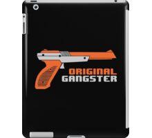 Original Gangster NES Light Gun Joke Gaming Retro Duck iPad Case/Skin