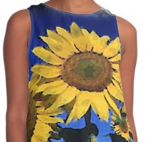 glorious sunflowers Contrast Tank