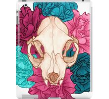TWO Flower Skull iPad Case/Skin