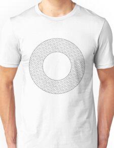 Circle Black Unisex T-Shirt