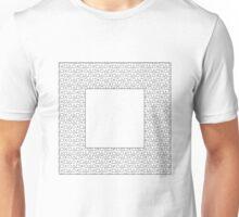 Square Black Unisex T-Shirt