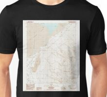 USGS TOPO Map California CA Vermillion Canyon 102364 1987 24000 geo Unisex T-Shirt