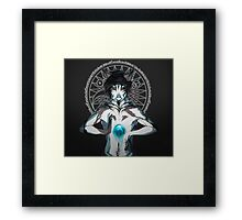 Thoughts Got My Fire Burning Background Framed Print
