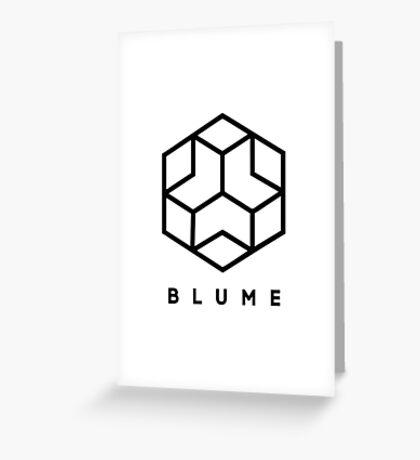 Blume Corporation Greeting Card