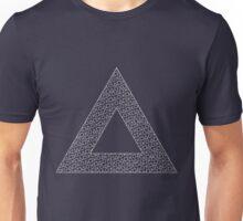 Triangle White Unisex T-Shirt