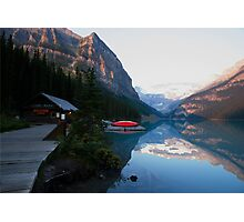 LOVE Lake Louise  Photographic Print