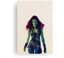 Gamora from Guardians of the Galaxy Canvas Print